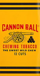 CANNON BALL CHEWING TOBACCO 