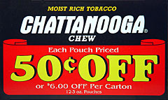 CHATTANOOGA CHEW  12 COUNT