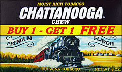 CHATTANOOGA CHEW  12 COUNT, Special PROMO