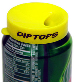 Diptops Disposable Snap-on Spittoon