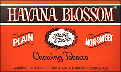 HAVANA BLOSSOM CHEWING TOBACCO 12 COUNT