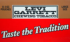 LEVI GARRETT CHEWING TOBACCO 12 COUNT