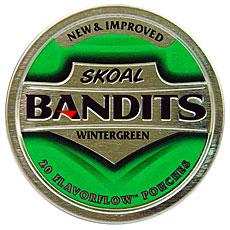 SKOAL BANDITS WINTERGREEN 5CT/ROLL