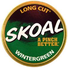 SKOAL LONG CUT WINTERGREEN 5CT/ROLL