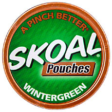 SKOAL POUCHES WINTERGREEN 5CT/ROLL