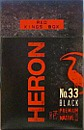 HERON No.33 BLACK FULL FLAVOR KING BOX
