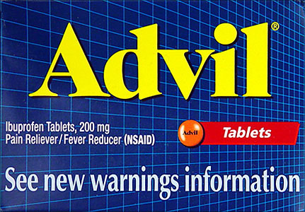 Advil Ibuprofen 50 Packets Of 2 Tablets 