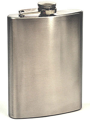 Stainless Steel 8oz Flask