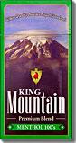 King Mountain Menthol 100 Box