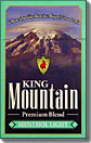 King Mountain Menthol Light King Box
