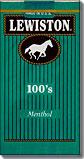 LEWISTON MENTHOL 100'S