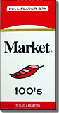 MARKET RED FULL FLAVOR 100 BOX