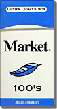 MARKET BLUE ULTRA LIGHT 100 BOX