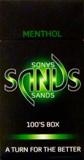Sands Menthol 100 Box