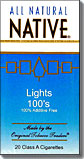 NATIVE LIGHT 100 BOX