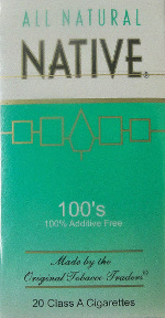 NATIVE MENTHOL LIGHT 100 BOX