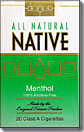 NATIVE MENTHOL SOFT