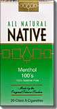 NATIVE MENTHOL 100