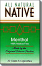 NATIVE MENTHOL BOX