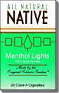 NATIVE MENTHOL LIGHT BOX