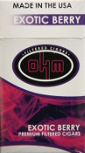 Ohm Filtered Cigars - Exotic Berry 100 Box