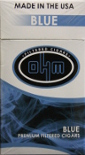 Ohm Filtered Cigars - Blue 100 Box