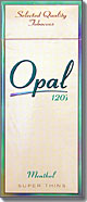Opal Menthol Super Thins 120