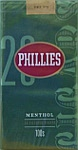 Phillies Filtered Cigar - Menthol 100
