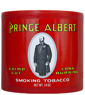 PRINCE ALBERT PIPE TOBACCO 14 OZ CAN