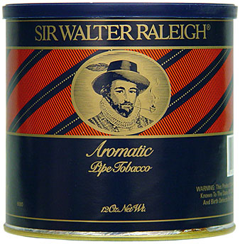 SIR WALTER RALEIGH PIPE TOBACCO AROMATIC 12OZ CAN