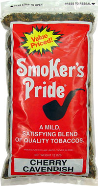 SMOKER'S PRIDE CHERRY CAVENDISH 12OZ BAG