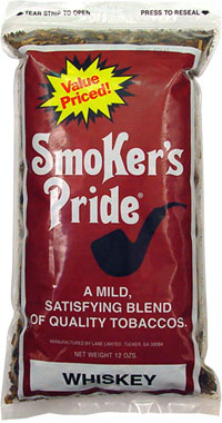 SMOKER'S PRIDE WHISKEY BLEND 12OZ BAG