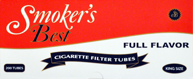 Smokers Best Full Flavor Tubes 200ct