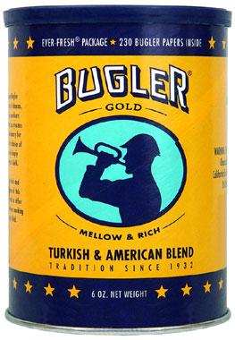 BUGLER GOLD TOBACCO 6OZ CAN