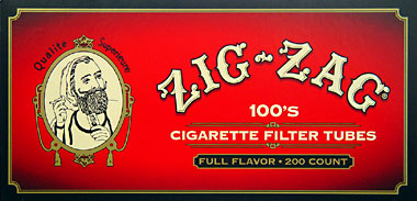 ZIG ZAG CIGARETTE TUBES FULL FLAVOR 100 - 200CT BOX
