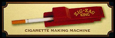 ZIG ZAG CIGARETTE MAKING MACHINE, KING SIZE