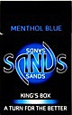 Sands Menthol Blue Light King Box
