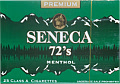 Seneca Menthol 72's Box