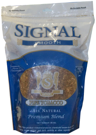 SIGNAL PIPE TOBACCO - LIGHT 16OZ BAG