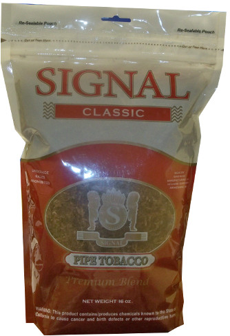 SIGNAL PIPE TOBACCO - FULL FLAVOR 16OZ BAG