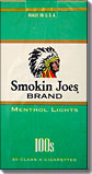 SMOKIN JOES MENTHOL LIGHT 100