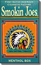 SMOKIN JOES 100percent NATURAL MENTHOL BOX