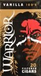 Warrior Filtered Cigars - Vanilla 100's