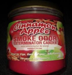 SMOKE ODOR EXTERMINATOR CANDLE 13OZ - CINNAMON APPLE
