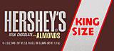 Hershey's Milk Chocolate with Almonds - King Size 18CT Box