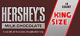 Hershey's Milk Chocolate - King Size 18CT Box