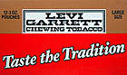 LEVI GARRETT CHEWING TOBACCO 12 COUNT