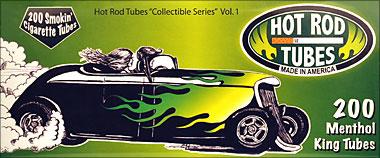 Hot Rod Menthol King Tubes 200ct