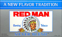 RED MAN SILVER BLEND SUGAR FREE 12 COUNT