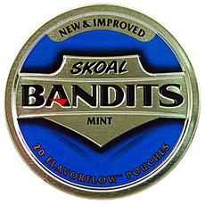 SKOAL BANDITS MINT 5CT ROLL